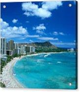 Waikiki Beach Acrylic Print