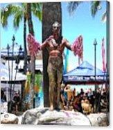 Waikiki Statue - Duke Kahanamoku Acrylic Print