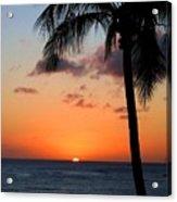Waikiki Sunset Acrylic Print