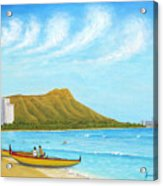 Waikiki Wonder Acrylic Print