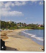 Wailea Beach Acrylic Print