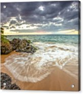 Wailea Sunset From Maui Acrylic Print
