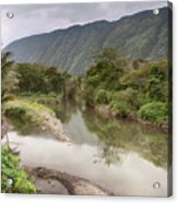 Wailoa Stream Acrylic Print