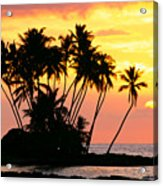 Wailua Bay, View Acrylic Print