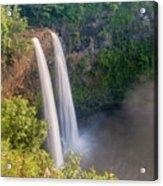 Wailua Falls - Kauai Hawaii Acrylic Print