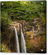 Wailua Falls Kauai I Acrylic Print