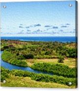 Wailua River Acrylic Print