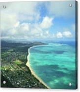 Waimanalo Bay Acrylic Print