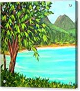 Waimanalo Beach Oahu #385 Acrylic Print