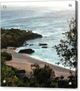 Waimea Bay Acrylic Print