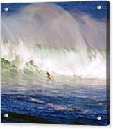 Waimea Bay Wave Acrylic Print