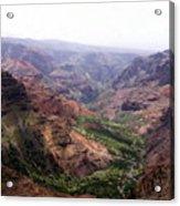 Waimea Canyon 2 Acrylic Print