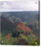 Waimea Canyon 2 Kauai Acrylic Print