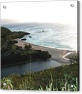 Waimea River And Bay Acrylic Print