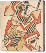 Wait A Moment  Torii Kiyotada  Japanese  Fl  Ca  1720  50 Acrylic Print