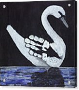 Wait A Second Swansong Acrylic Print