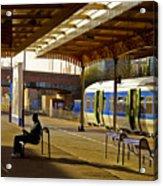Waitin' For The Train Acrylic Print