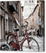 Waiting For A Ride Acrylic Print by Andre Goncalves