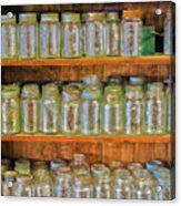 Waiting For Canning Time Acrylic Print