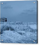 Waiting For Summer - Jersey Shore Acrylic Print