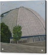 Waiting For The Next Event Mellon Arena Pittsburgh Acrylic Print