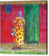 Waiting In Zimbabwe Acrylic Print