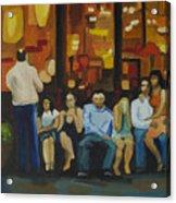 Waiting On A Taxi Acrylic Print