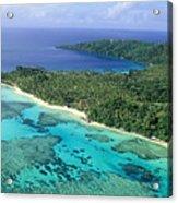 Wakaya Island Aerial Acrylic Print