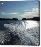 St. Lawrence Intercoastal Waterway Acrylic Print