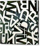 Wake My Burn Dust Xiv Acrylic Print
