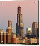Wake Up Chicago Acrylic Print