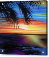 Wakulla Beach Morning Acrylic Print