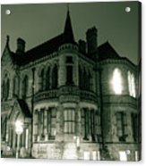Waldorf College, The Centre For Science And Arts By Night Stround Gloucestershire Acrylic Print