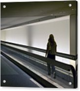 Walk-a-matic At Orlando Airport Acrylic Print