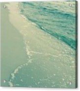 Walk Along The Beach Acrylic Print