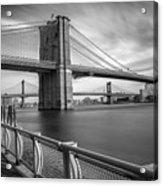 Walk Along The East River Acrylic Print