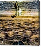 Walk By The Sea Acrylic Print