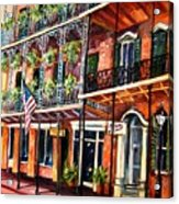 Walk In The French Quarter Acrylic Print