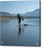 Walk On Water Acrylic Print