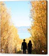 Walk To Mono Lake Acrylic Print