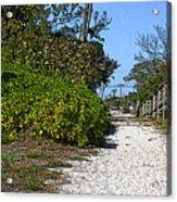 Walk To The Beach Acrylic Print
