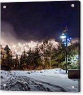 Walk To The Ski Hills Acrylic Print