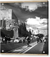 Walking Around The City Of Rome 2 Acrylic Print