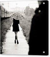 Walking Away Acrylic Print