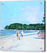 Walking Down The Isle Acrylic Print