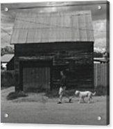 Walking In Leadville Acrylic Print