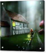 Walking On Magic Acrylic Print