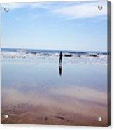 Walking On Water Acrylic Print by Stephanie  Varner