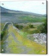 Walking the Burren Acrylic Print
