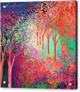 Walking Toward The Light Acrylic Print